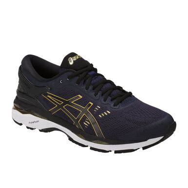 Sepatu Asics Kayano 24 jual asics gel kayano 24 peacoat black rich gold 41 5 asit749n5890 jd id