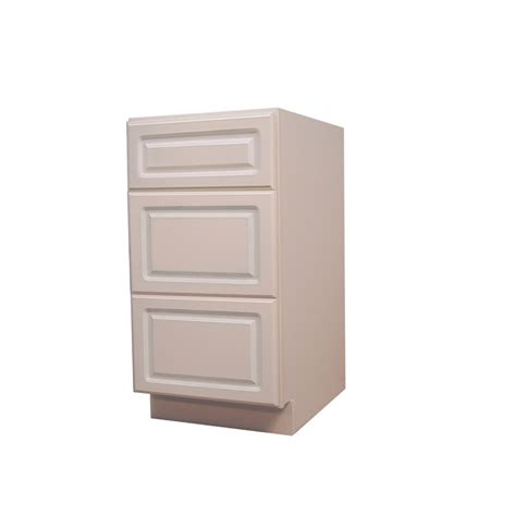 Kitchen Base Cabinet Drawers Shop Kitchen Classics 34 5 In H X 18 In W X 24 In D Drawer Base Cabinet At Lowes