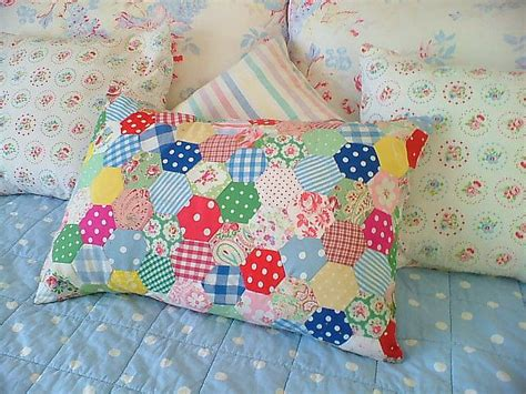 Patchwork Cushion - bright patchwork sofa cushions paper piecing