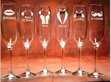 Wedding Party - EtchTalk.com - Glass Etching Projects Mothers Birthday Gift