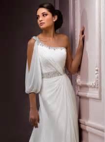 grecian style wedding dresses getting married on skopelos in a grecian wedding gown