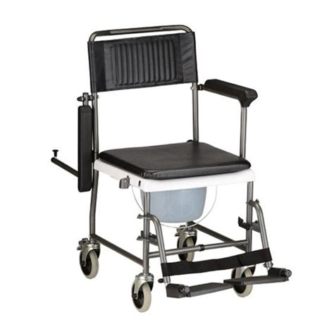 Drop Arm Commode Chair by Drop Arm Shower Commode Transport Chair On Sale With 120 Low Price Guarantee