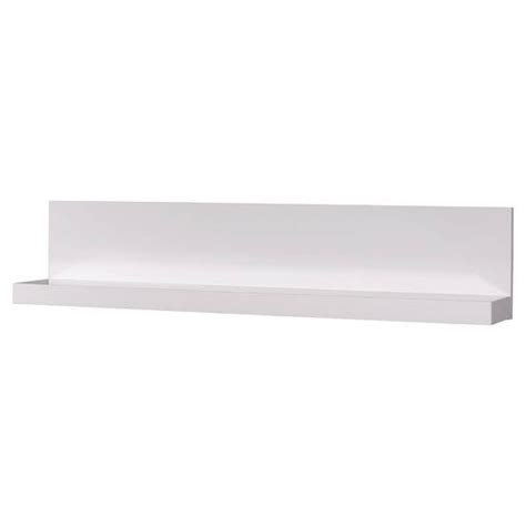 fino gloss white wall mounted display cd shelf 18416 furnitu