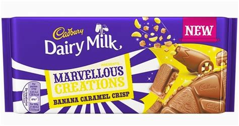 product layout of cadbury cadbury dairy milk marvellous creations the