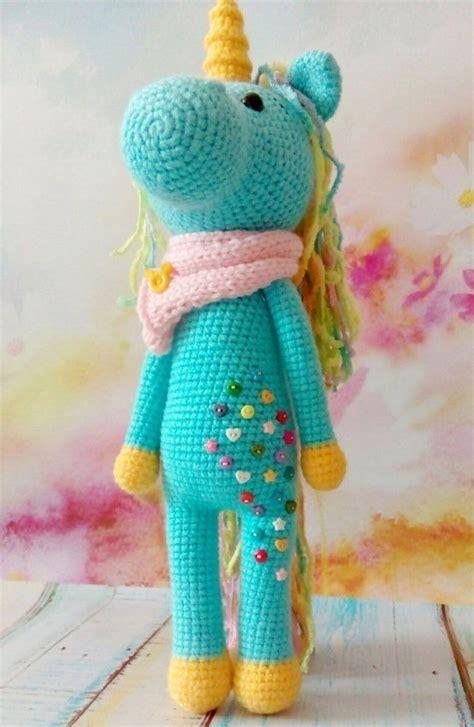 unicorn amigurumi pattern shy unicorn amigurumi free crochet pattern pinteres
