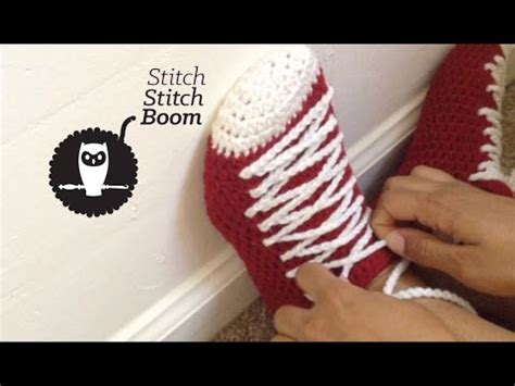 high top house shoes crochet pattern for high top sneaker slippers crochet and knit