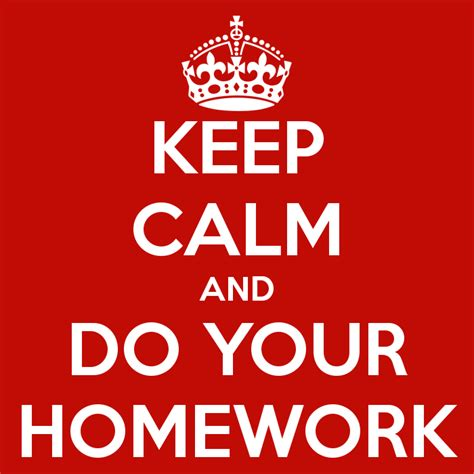 Do Home Work by Homework Is It Necessary The Comet