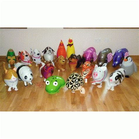 Balon Pet pack 10 pet balloons helium canister