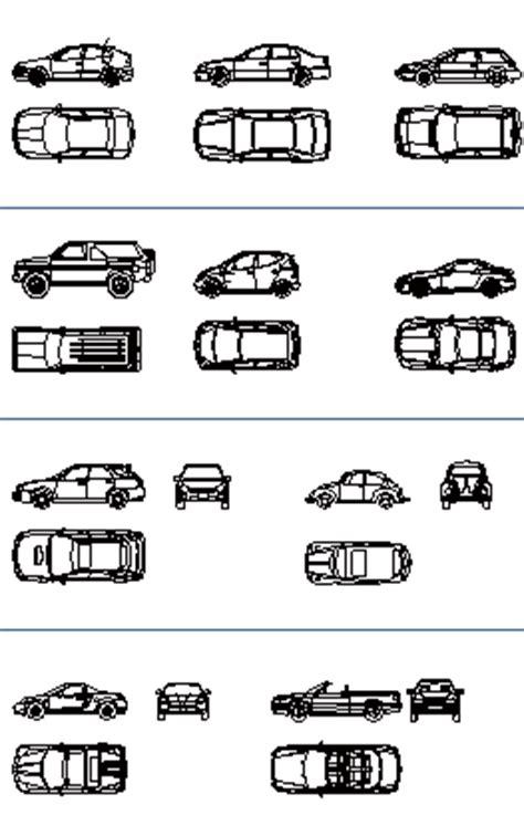 car templates for autocad fire truck cad symbols