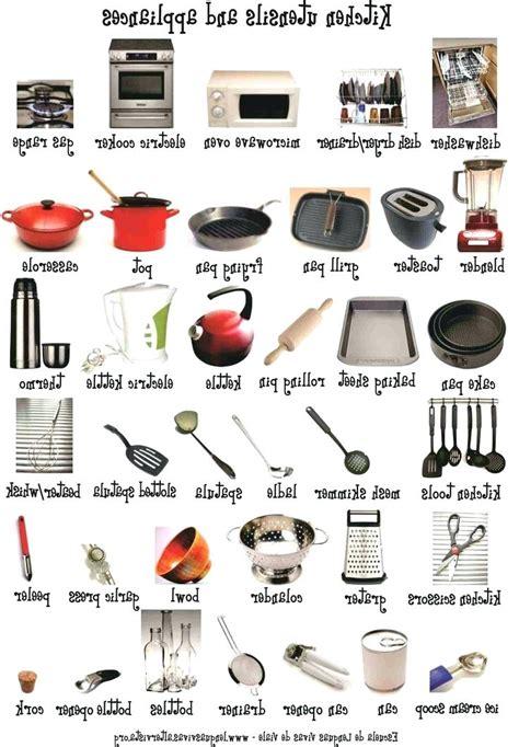 kitchen items list list of kitchen utensils kitchen utensils list from list