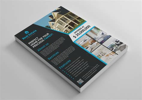 3 Stylish Real Estate Business Card Templates by Stylish Real Estate Flyer Template 3 Template Catalog