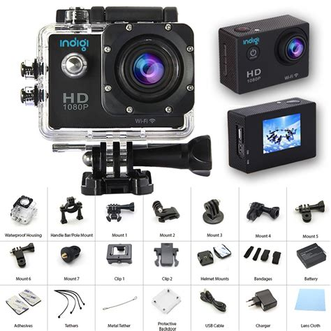full hd video latest indigi actioncam