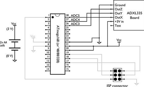 accelerometer circuit diagram 3 axis accelerometer circuit diagram circuit and