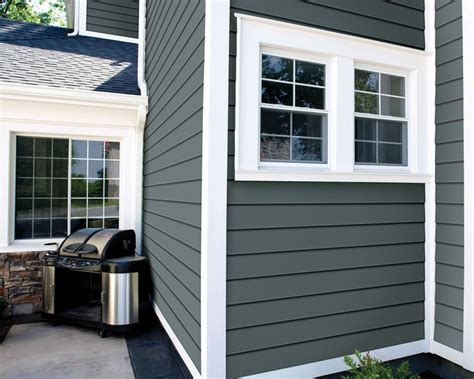 Vinyl Room Dividers - haven 174 insulated siding in midnight surf