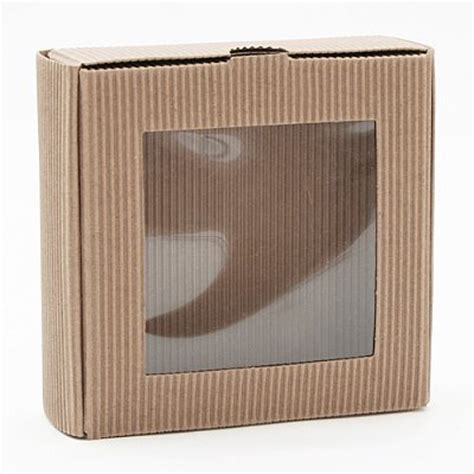 cardboard box with window corrugated cardboard box with pvc window jpg