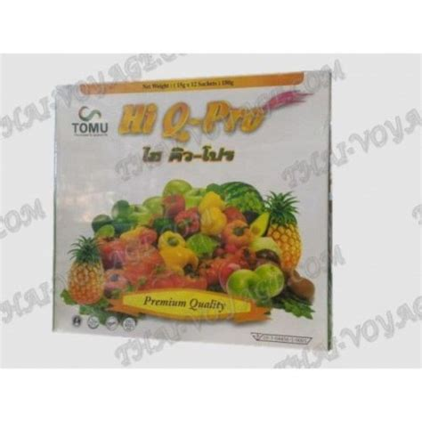 Hi Q Pro Plus Detox by Thai Activated Fiber Hi Q Pro To Reduce Weight And Cleanse
