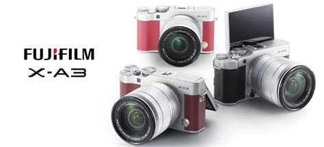 Kamera Fujifilm Untuk Pemula spesifikasi fujifilm x a3 kamera mirrorless flip screen