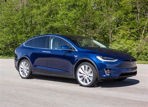 suv tesla blue 2017 tesla model x first drive electric suv consumer