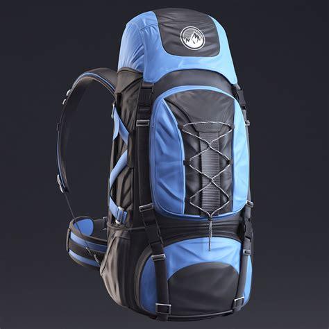 backpack alpine 3d max