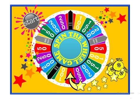 Spin The Wheel Grammar Revision Game For Higher Levels Spinning Wheel Powerpoint