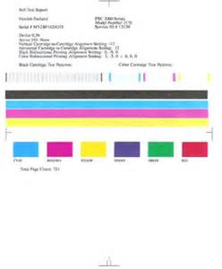 print test page hp officejet 5510 6100 psc 2100 2400 and 2500 all in