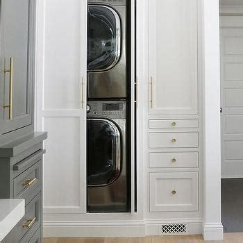 concealed washer and dryer benjamin moore chelsea gray design ideas