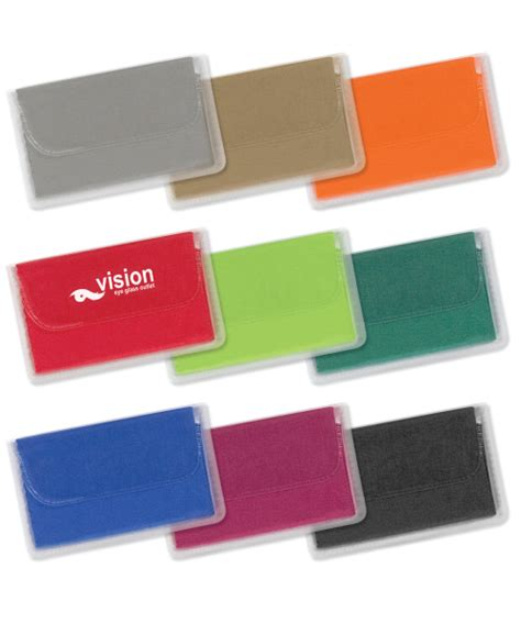 printed promotional henley microfibre cleaning cloths