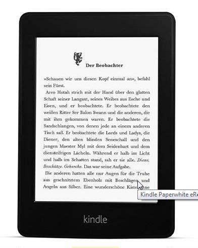 wann kommt der neue kindle paperwhite kindle paperwhite neuer ebook reader strahlt