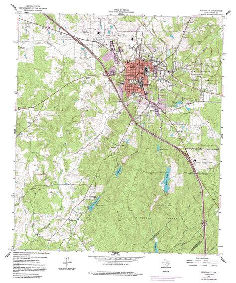map of huntsville texas huntsville topographic map tx usgs topo 30095f5
