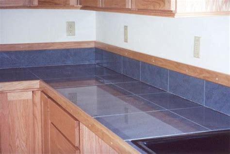 Tile Countertop Trim by Tile Countertop Edge Bstcountertops