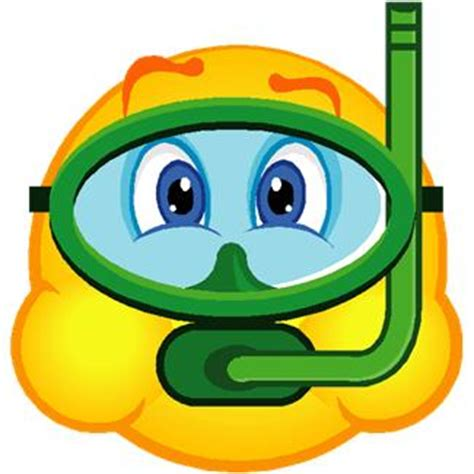 smiley clipart swimming pencil and in color smiley