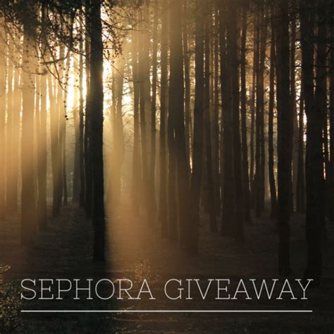 Sephora Email Gift Card - 150 sephora gift card giveaway ends 12 19 mommies with