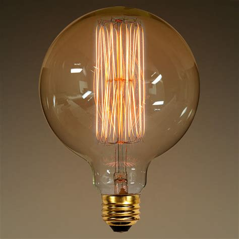 G40 Vintage Antique Light Bulb Globe Style 40w G40 Lights