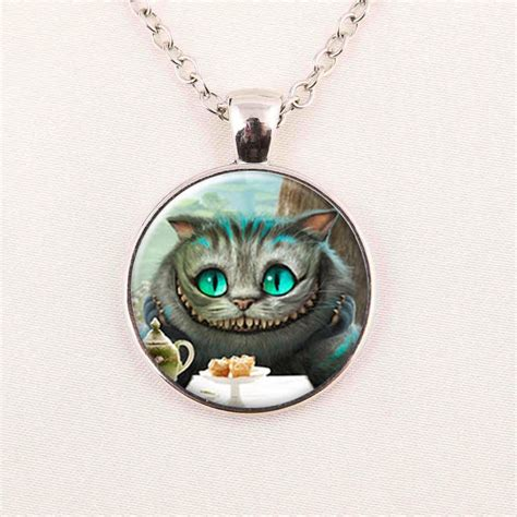 wholesale in necklace cheshire cat
