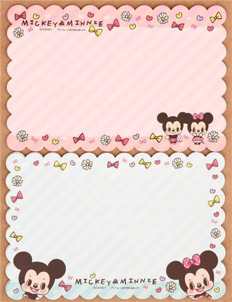Disney Baby Japan Skater Mickey Cutlery Bag mickey mouse and minnie mouse mini letter set from japan