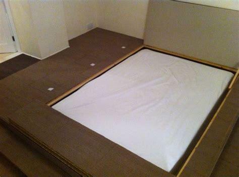 sunken bed frame sunken bed garage pinterest beds and sunken bed
