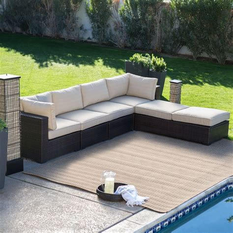 round patio couch circular patio sectional sofa furniture covers outdoor