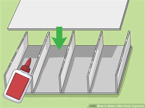 how to make a desk organizer how to make a mini desk organizer with pictures wikihow