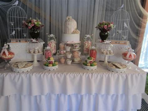 Tea Themed Bridal Shower by Feature A Sweet Bird High Tea Bridal Shower From Cakes By Joanne Charmand Tea Bridal