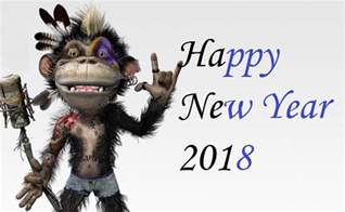 new year 2018 for monkey happy new year quotes 2018 new years day 2018