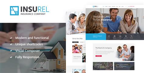 themeforest insurance theme insurel insurance finance theme by ancorathemes