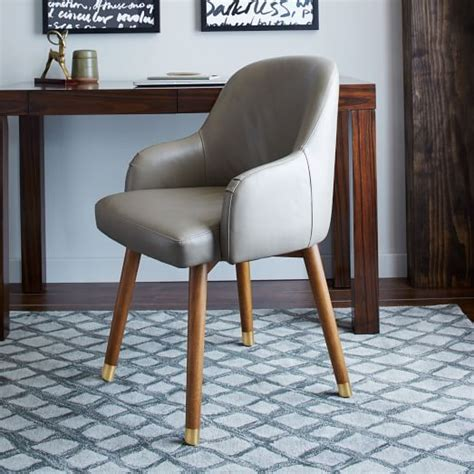 Saddle Swivel Office Chair Leather West Elm Markdowns Office Furniture