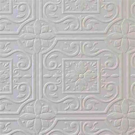 tile pattern paintable wallpaper faux tin ceiling tile textured paintable wallpaper 148