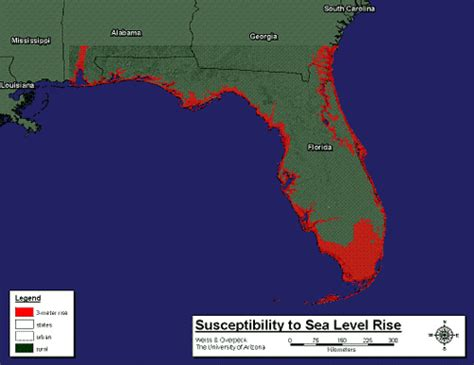 florida climate change map rick bans use of terms climate change global