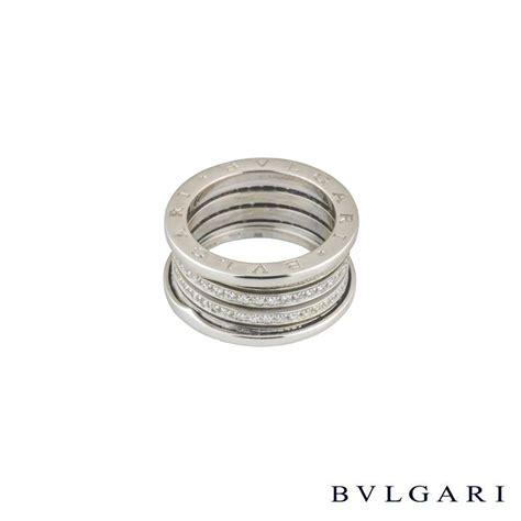 Bvlg White Set bvlgari 18k white gold set b zero1 ring an850560 rich diamonds of bond
