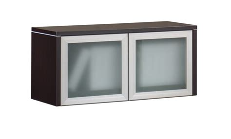 glass door storage units classic wall mounted storage unit