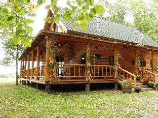 small log homes with wrap around porch beautiful log cabin near lake mountain views home movie