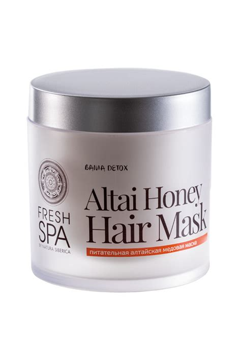 Detox Reset Mask by Fresh Spa Bania Detox Nourishing Hair Mask With Altai