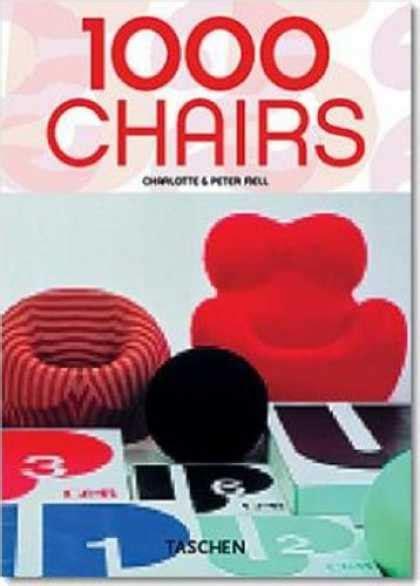 1000 chairs taschen 25 382284103x taschen book covers 50 99