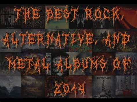 the best rock, alternative, and metal albums and eps of